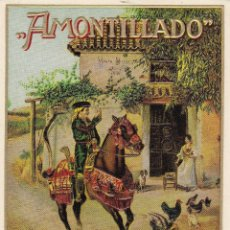 Etiquetas antiguas: AMONTILLADO VALDESPINO JEREZ ETIQUETA EN RELIEVE. Lote 47593240