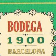 Etiquetas antiguas: TARJETA PUBLICITARIA LOCAL DE FERRAN ADRIA. Lote 172688507