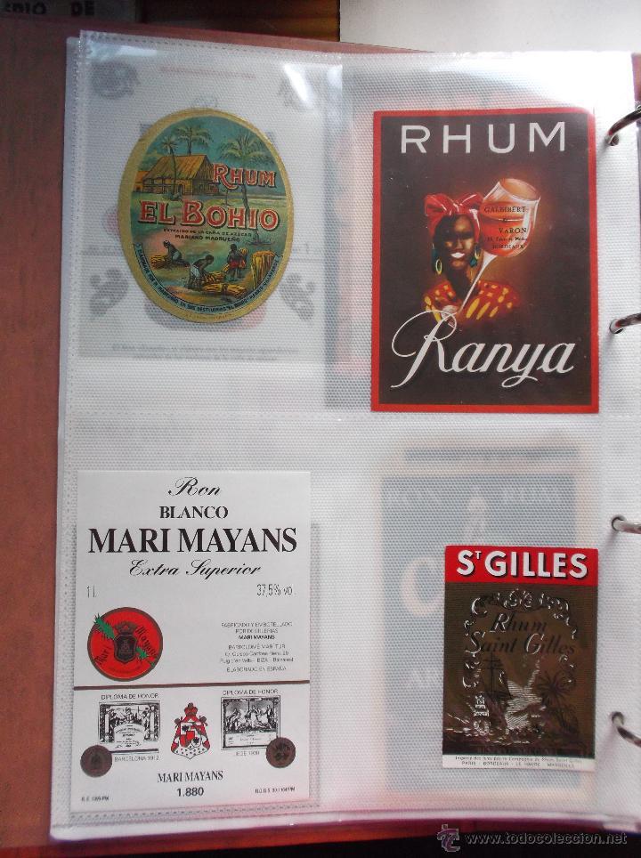 Etiquetas antiguas: LOTE DE MAS DE 350 ETIQUETAS DE RHON ESPAÑOLAS Y EXTRANJERAS MUY ANTIGUAS. - Foto 6 - 49673175