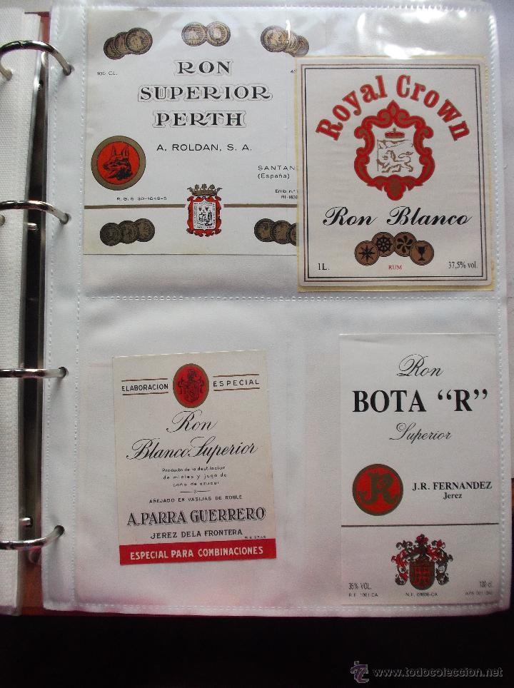 Etiquetas antiguas: LOTE DE MAS DE 350 ETIQUETAS DE RHON ESPAÑOLAS Y EXTRANJERAS MUY ANTIGUAS. - Foto 11 - 49673175