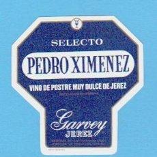 Etiquetas antiguas: ETIQUETA DE VINO.JEREZ DE LA FRONTERA.( MINIATURA ).. Lote 50108929