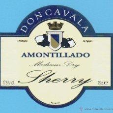 Etiquetas antiguas: ETIQUETA DE VINO.JEREZ DE LA FRONTERA.. Lote 50109052