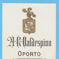 Etiquetas antiguas: ETIQUETA DE VINO.JEREZ DE LA FRONTERA.. Lote 50109143