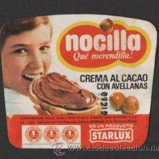 Etiquetas antiguas: (TC-100) ETIQUETA PRECINTO NOCILLA CON PUNTOS STARLUX. Lote 124243210