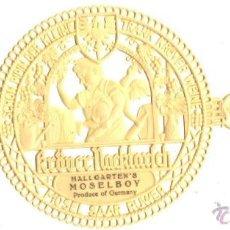 Etiquetas antiguas: KRÖVER NACKTARSCH -HALLGARTEN'S MOSELBOY . Lote 51791029