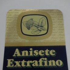 Etiquetas antiguas: ETIQUETA ANISETE EXTRAFINO MANUEL ACHA AMURRIO. Lote 51886706