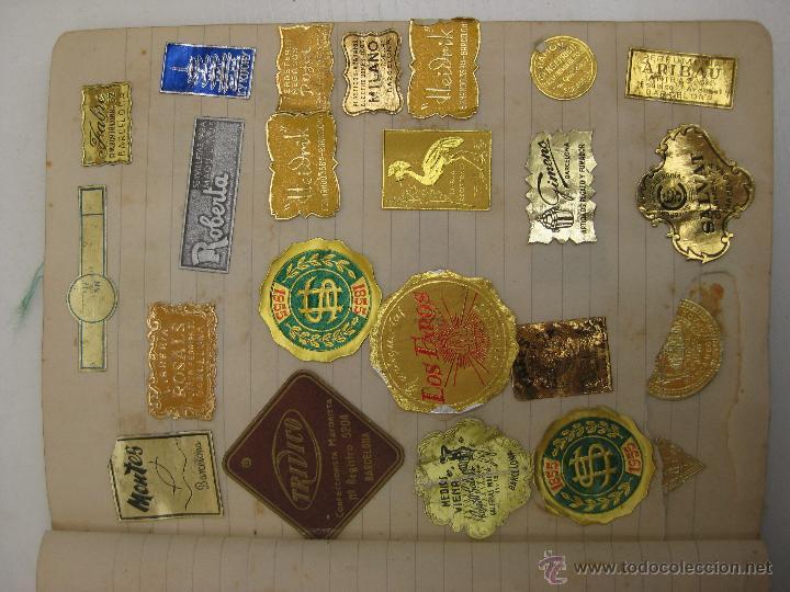 impresionante coleccion lote unas 300 etiquetas - Comprar Etiquetas ...