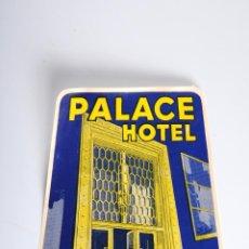 Etiquetas antiguas: ETIQUETA HOTEL PALACE BRUXELLES. Lote 52861930