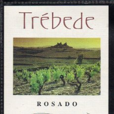 Etiquetas antiguas: ET0188, ETIQUETA DE VINO, TREBEDE, ROSADO.. Lote 53192692