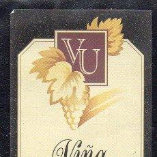 Etiquetas antiguas: ET0189, ETIQUETA DE VINO, VIÑA UNZAGA, BODEGAS FERNANDEZ GASCO.. Lote 53192693