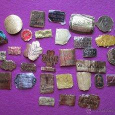 Etiquetas antiguas: LOTE 114 ETIQUETAS VARIADAS, PASTELERIA, MODAS, JOYERIA, PERFUMERIA.... HAY REPETIDAS, L2. Lote 53663373