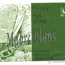 Etiquetas antiguas: VI D'AGULLA MABRE BLANC. Lote 54030728