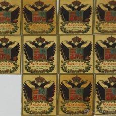 Etiquetas antiguas: COLECCIÓN DE 11 ETIQUETAS DE VINO MARASCHINO. LIT. MALLOFRÉ. SIGLO XX.. Lote 49425761