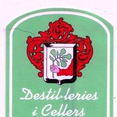 Etiquetas antiguas: ETIQUETA TRES CAIRES, JORDI PERELLO ANIS TIPICO DE LLUBÍ (MALLORCA.). Lote 60748579