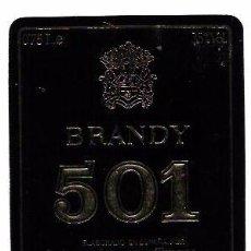 Etiquetas antiguas: ETIQUETA DE BRANDY 501. CARLOS Y JAVIER DE TERRY. PUERTO DE SANTA MARIA.. Lote 62356452