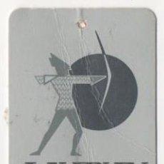 Etiquetas antiguas: ANTIGUA ETIQUETA DE ROPA LAYPUN IGUALADA. Lote 62899500