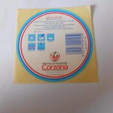 Etiquetas antiguas: ETIQUETA ALFARERIA DE NAVARRETE CORZANA. LA RIOJA. TDKP8. Lote 63640435