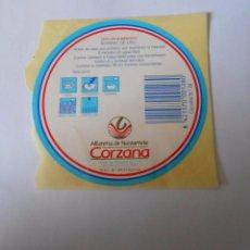 Etiquetas antiguas: ETIQUETA ALFARERIA DE NAVARRETE CORZANA. LA RIOJA. TDKP8. Lote 63640467