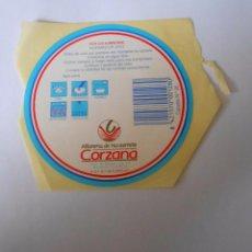 Etiquetas antiguas: ETIQUETA ALFARERIA DE NAVARRETE CORZANA. LA RIOJA. TDKP8. Lote 63640515