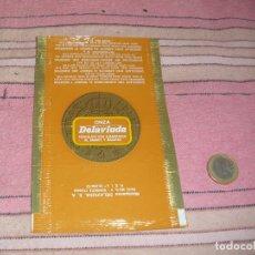 Etiquetas antiguas: ETIQUETA - ENVOLTORIO - ONZA DELAVIUDA - MAZAPANES DELAVIUDA - SONSECA(TOLEDO). Lote 64197923