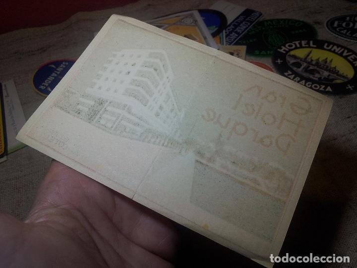 Etiquetas antiguas: ETIQUETA GRAN HOTEL PARQUE LAS PALMAS GRAN CANARIA - REVERSO ENGOMADO COLECCION PARTICULAR - Foto 3 - 71166845