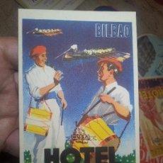 Etiquetas antiguas: - ETIQUETA HOTEL CARLTON BILBAO - FOURNIER--ORIGINAL EPOCA COLECCION PARTICULAR . Lote 71168157