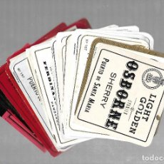 Etiquetas antiguas: COLECCION DE 71 ETIQUETAS DE OSBORNE. DIFERENTES. VER FOTOS. Lote 77285865