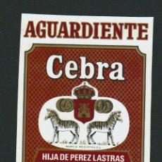 Etiquetas antiguas: ETIQUETA DE ANIS .CEBREROS ( ÁVILA ).. Lote 78930733