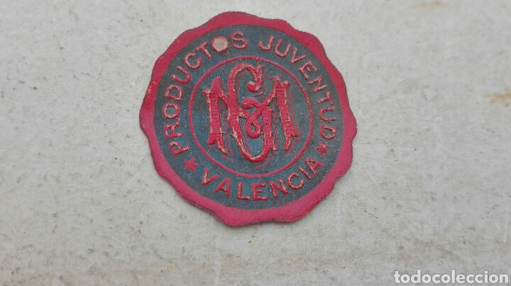 ANTIGUA ETIQUETA PRODUCTOS JUVENTUD VALENCIA (Coleccionismo - Etiquetas)