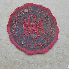 Etiquetas antiguas: ANTIGUA ETIQUETA PRODUCTOS JUVENTUD VALENCIA. Lote 80372013