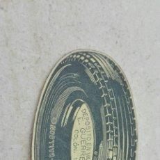 Etiquetas antiguas: ANTIGUA ETIQUETA RUEDA DEPOSITO E.GERRERO VALENCIA. Lote 80372391