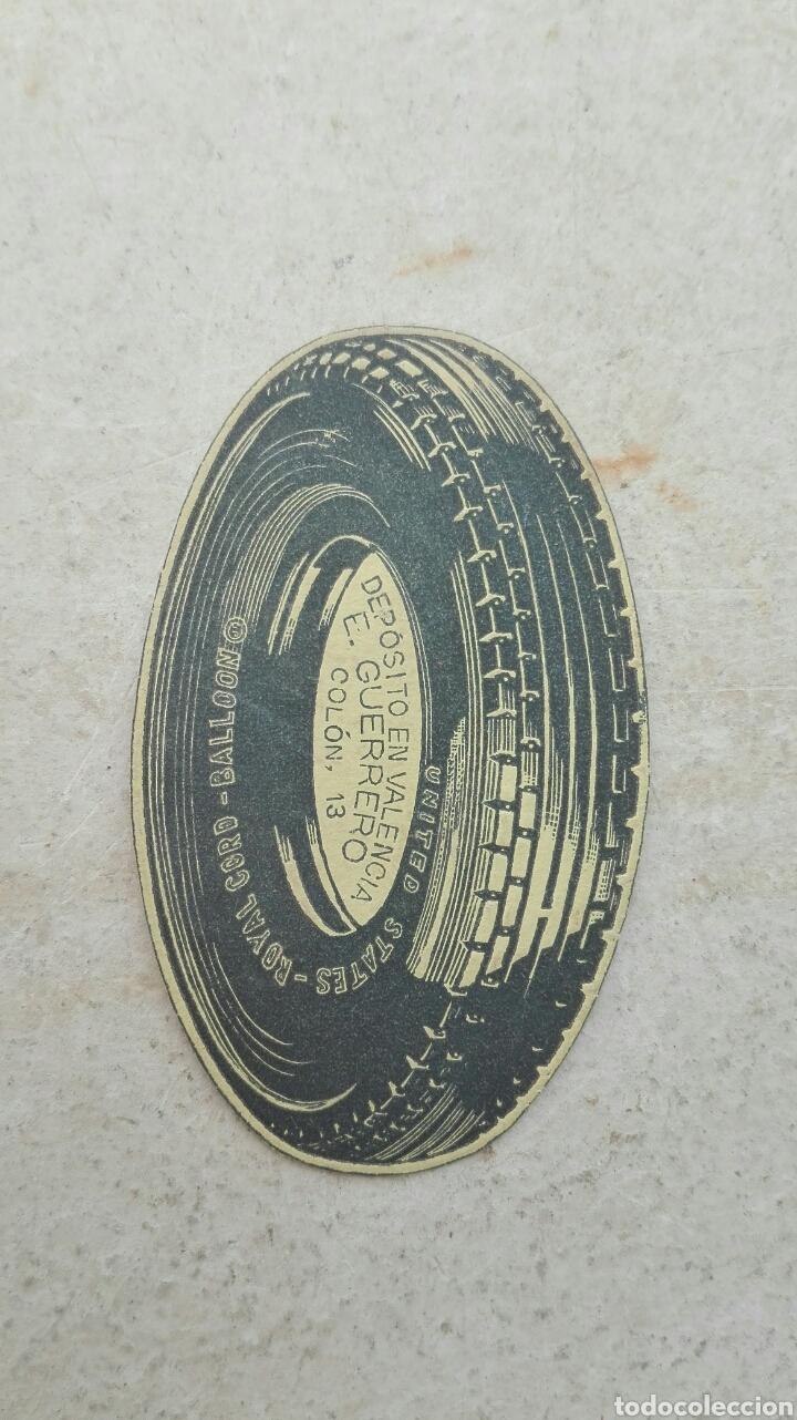 Etiquetas antiguas: Antigua Etiqueta Rueda Deposito E.Gerrero Valencia - Foto 2 - 80372391