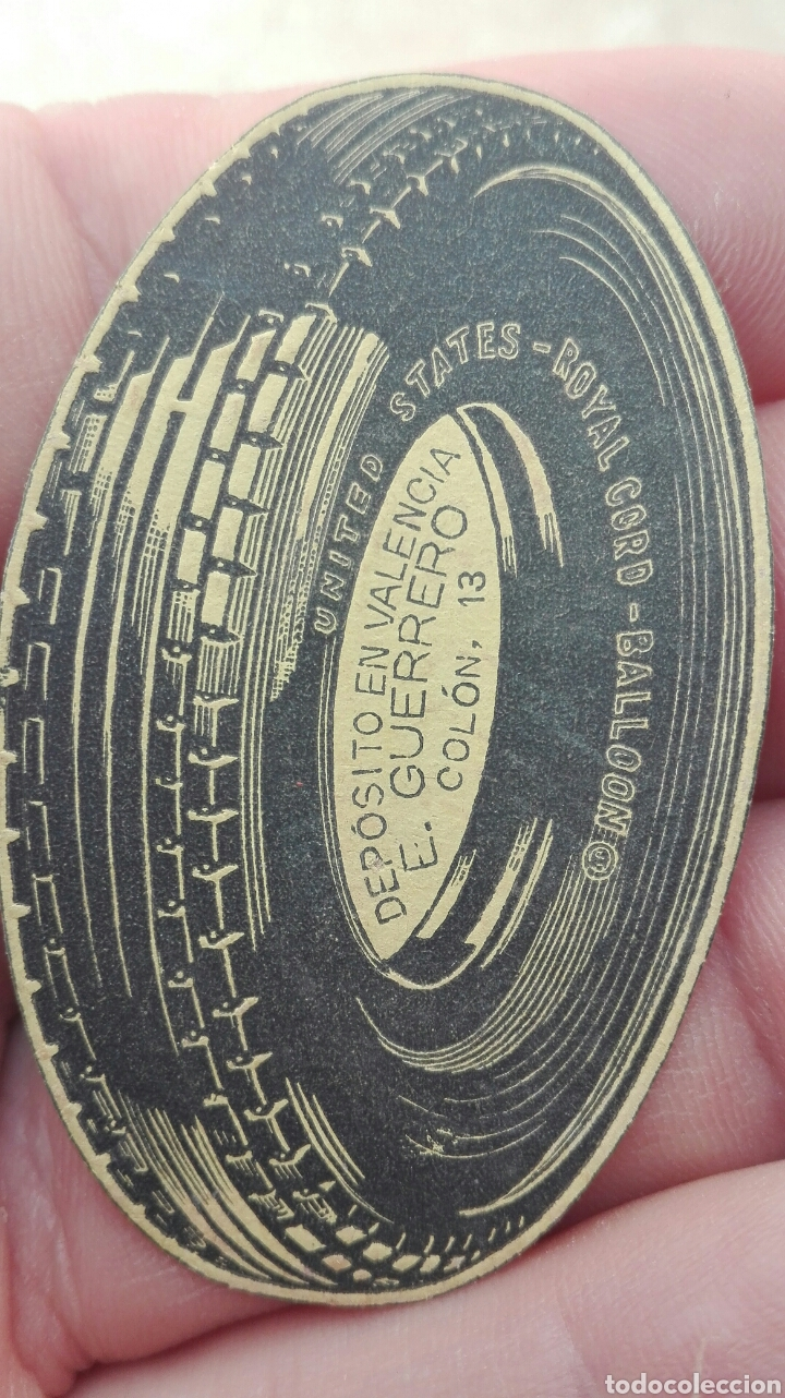 Etiquetas antiguas: Antigua Etiqueta Rueda Deposito E.Gerrero Valencia - Foto 5 - 80372391