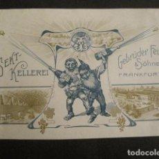Etiquetas antiguas: ETIQUETA - BODEGAS FRANKFURT - ALEMANIA - VER FOTOS - (V-9982). Lote 80524837