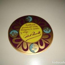 Etiquetas antiguas: BRANDY PARRA ETIQUETA DE VINO CAJA-28. Lote 81237504