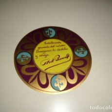 Etiquetas antiguas: D D D BRANDY PARRA ETIQUETA DE VINO CAJA-28. Lote 81237700