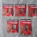 Etiquetas antiguas: LOTE DE 5 ETIQUETAS LABELS CERVEZA BEER CRUZCAMPO MUNDIAL DE FUTBOL 2014 BRASIL JUGADORES ESPAÑA VER. Lote 81351812
