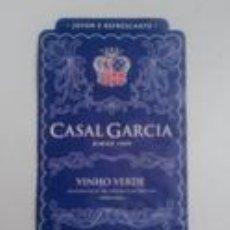 Etiquetas antiguas: ETIQUETA VINO CASAL GARCIA, PORTUGAL. Lote 82674008