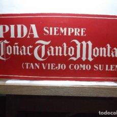Etiquetas antiguas: CARTEL DE PROPAGANDA DE LA CASA JUAN L. DE MENESES.. Lote 84969524