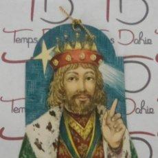 Etiquetas antiguas: (ALB-TC-12) ANTIGUA ETIQUETA REGALO REYES MAGOS. Lote 88293596
