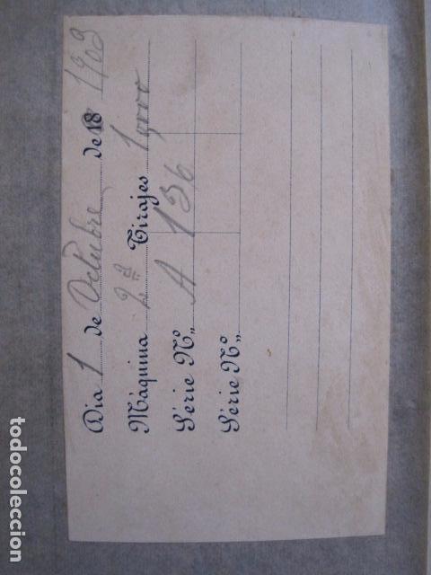 Etiquetas antiguas: ANIS DEL MONO- VICENTE BOSCH -ENVOLTORIO DE PAPEL PARA BOTELLA -AÑO 1903 -VER FOTOS-(V-11.781) - Foto 3 - 91137930