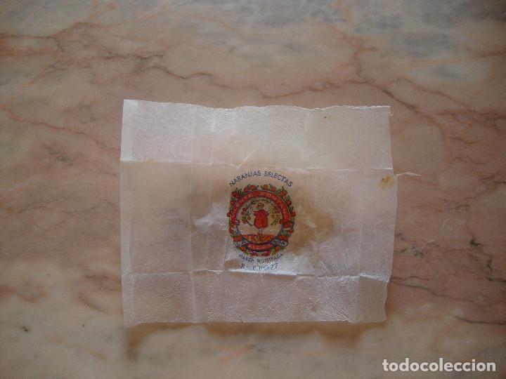 Etiquetas antiguas: COLECCION DE 29 ETIQUETAS PAPEL SEDA ENVOLTORIO DE NARANJAS ORIGINALES VER FOTOS - Foto 4 - 94537539