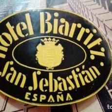 Etiquetas antiguas: HOTEL BOARRITZ SAN SEBASTIAN. Lote 101638311