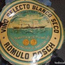 Etiquetas antiguas: ANTIGUA ETIQUETA VINO SELECTO BLANCO SECO. Lote 102521683