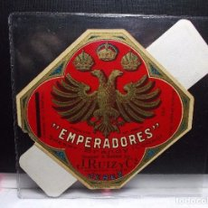 Etiquetas antiguas: ETIQUETA DE UNA BODEGA DE JEREZ FRA. ANTIGUA. Lote 102973011