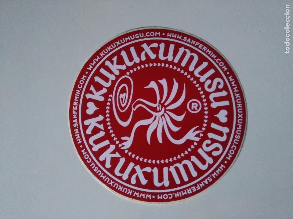 PEGATINA KUKUXUMUXU (Coleccionismo - Etiquetas)