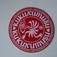 Etiquetas antiguas: PEGATINA KUKUXUMUXU. Lote 104132063