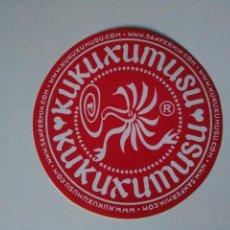 Etiquetas antiguas: PEGATINA KUKUXUMUXU. Lote 104132075
