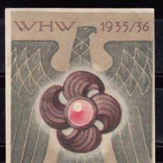 Etiquetas antiguas: ETIQUETA PROPAGANDA NAZI ,. Lote 104473687