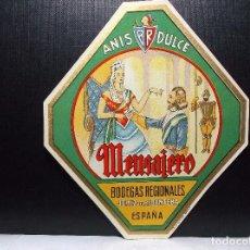 Etiquetas antiguas: ETIQUETA DE UNA BODEGA DE JEREZ FRA... ANTIGUA.. Lote 104546111